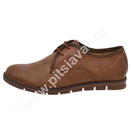 5a0786556cc Nice step 731 ανδρικά παπούτσια καφέ - pitsiavas