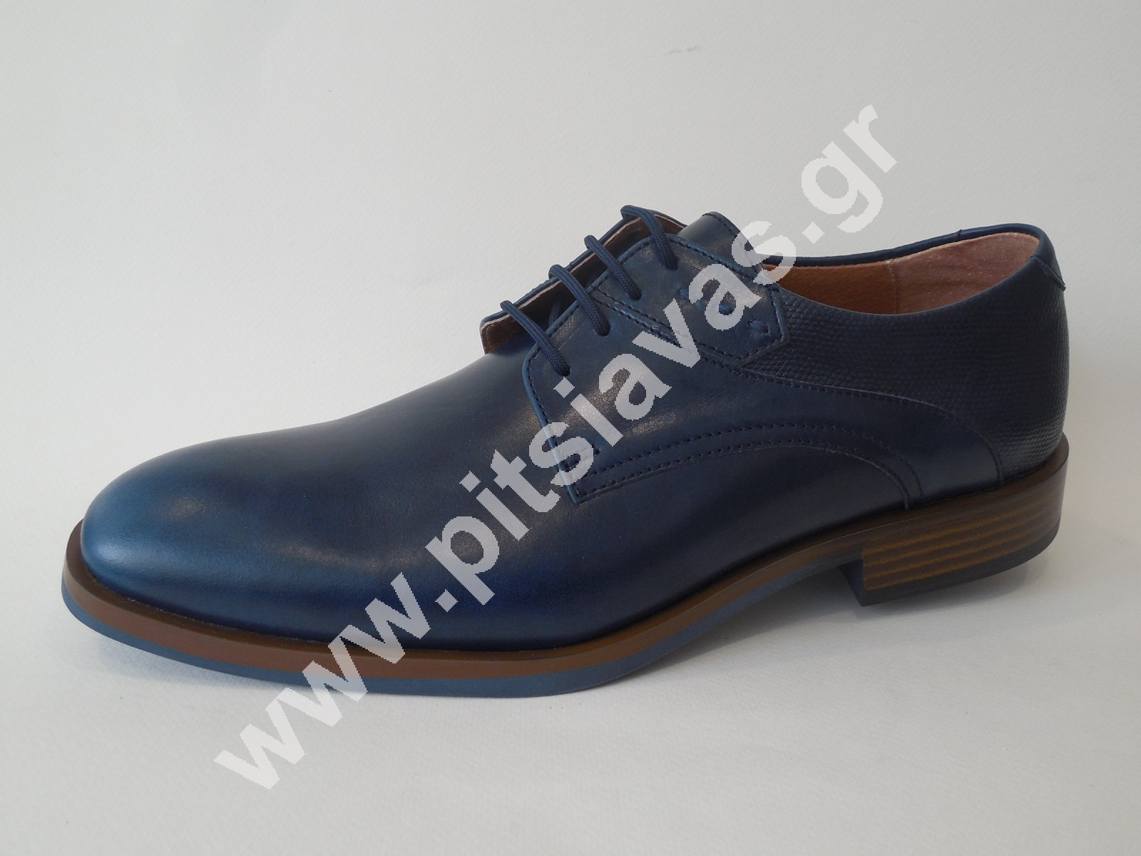 e61b49c02ff Commanchero ανδρικό παπούτσι 91663 μπλε δέρμα - pitsiavas