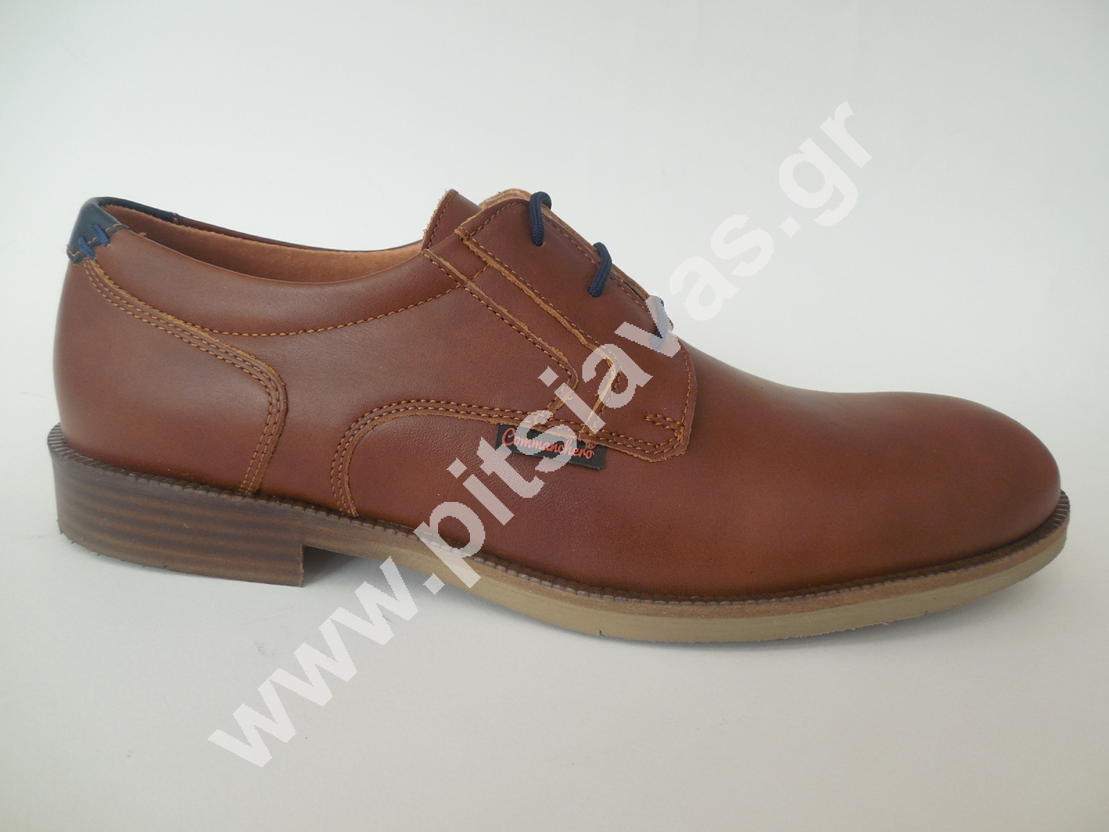 8d626fefd28 Commanchero ανδρικό παπούτσι 91693 ταμπά δέρμα - pitsiavas